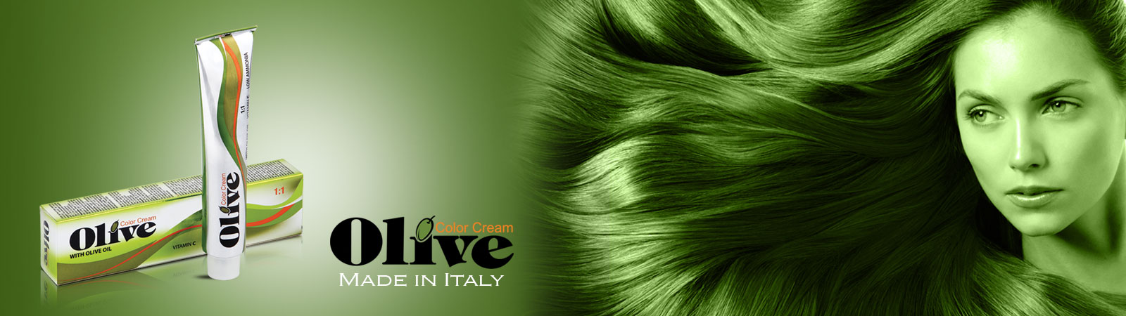 Olive Professional Hair Color